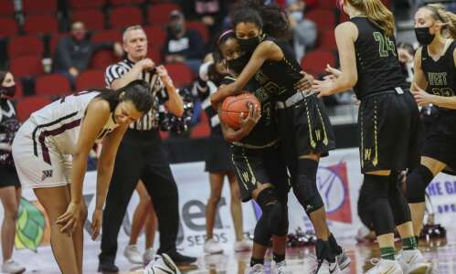 Iowa City's West is best in a 5A girls' state…