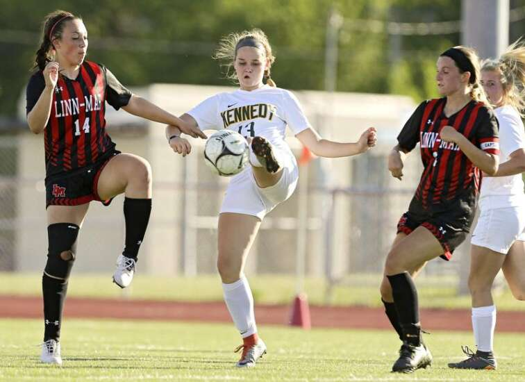 Iowa signee Delaney Holtey excited for final season with Cedar Rapids Kennedy as high school soccer returns
