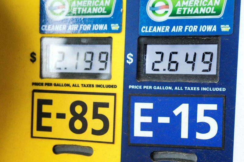 Iowa leads in ethanol production, but we're not even in the top 20 on consumption
