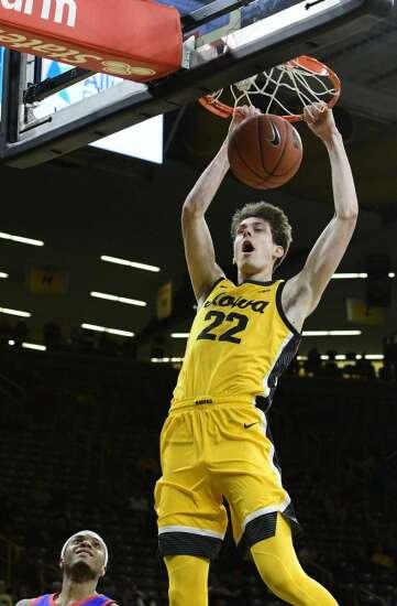 Photos: Iowa men's basketball vs. DePaul