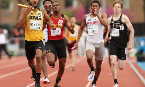 13 athletes from Iowa, ISU competing in Day 1 of…