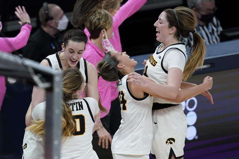 Iowa dusts Michigan State, reaches Big Ten women's basketball tournament championship game