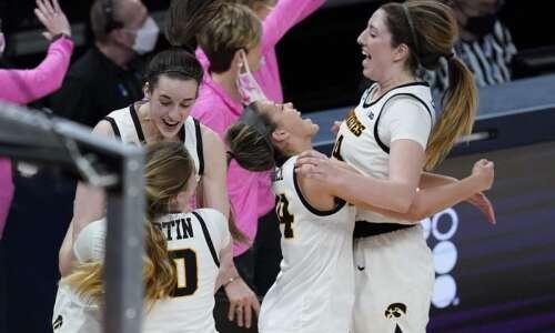 Iowa dusts Michigan State, reaches Big Ten women's basketball tournament…