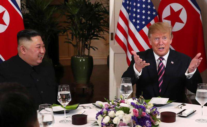 Trump and Kim hold second day of summit in Hanoi