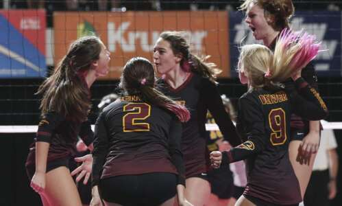 State volleyball rookies from Denver debut with a victory