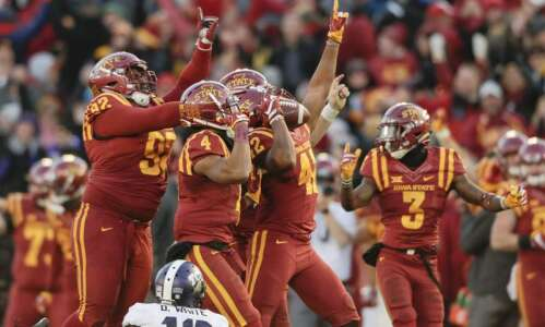Iowa State will play Memphis in Liberty Bowl