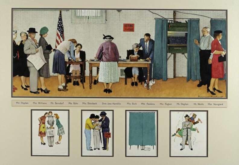 Time machine: Famed illustrator Norman Rockwell found inspiration in Cedar Rapids