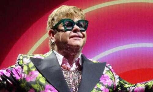 Elton John coming to Des Moines