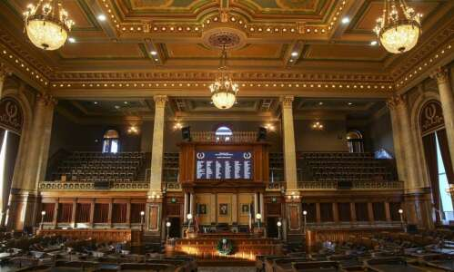 Bill would bar Iowa universities from spending nonstate money without…