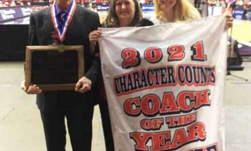 Lyle honored at state tourney
