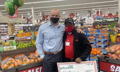 Hy-Vee cashier helped customer who was short $12, and his…