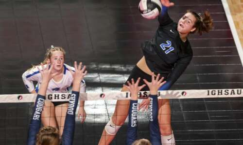 Dike-New Hartford posts successful return to state volleyball tournament