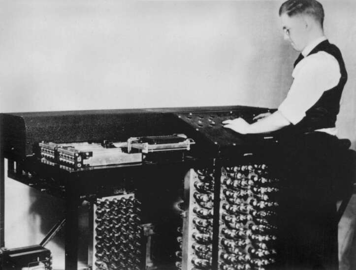 Is Iowa the birthplace of the computer?