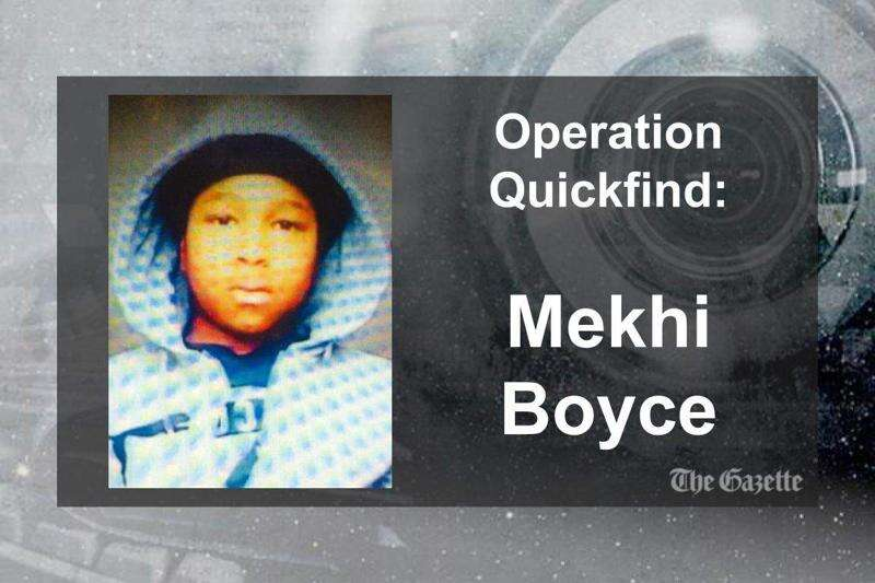 (CANCELED) Operation Quickfind issued for Cedar Rapids boy
