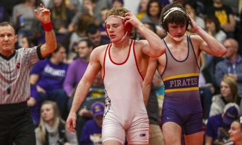 Lisbon's Cael Happel named Iowa's Dave Schultz High School Excellence…