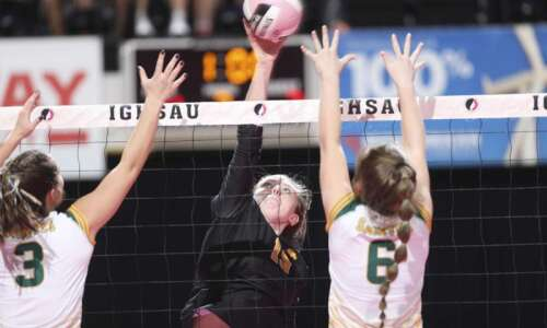 Photos: Janesville vs. St. Albert, Iowa Class 1A state volleyball…