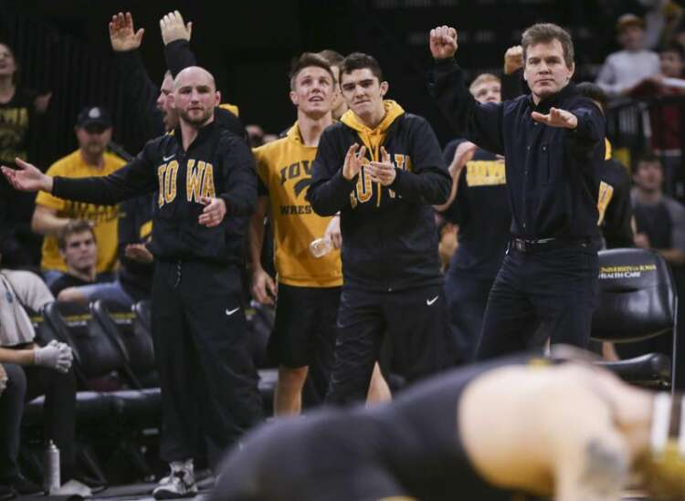 Wrestling is back and Iowa Hawkeyes should fly high