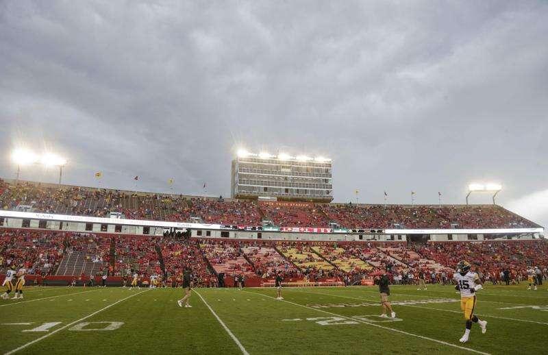 Iowa State vs. Louisiana football kickoff time, TV set