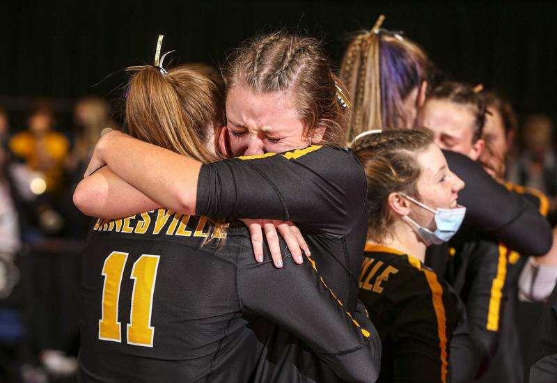 Photos: Janesville vs. St. Albert, Iowa Class 1A state volleyball tournament quarterfinals