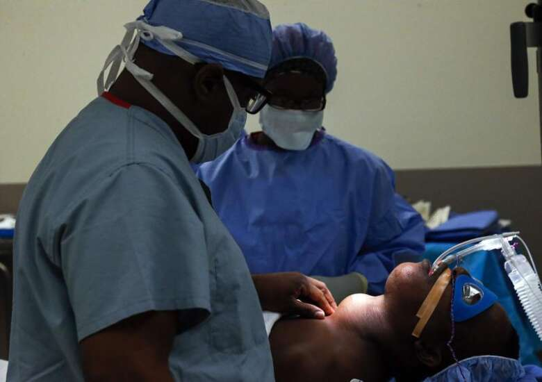 An opened door: How one Cedar Rapids family helped a Haitian family in need of medical care