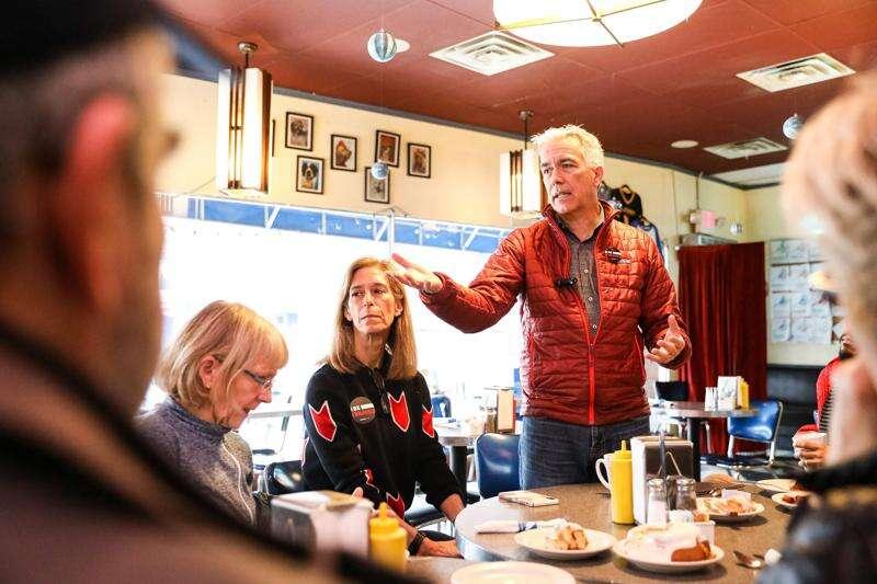 Dark horse GOP candidate Joe Walsh favors Bernie Sanders or Elizabeth Warren in White House over Donald Trump