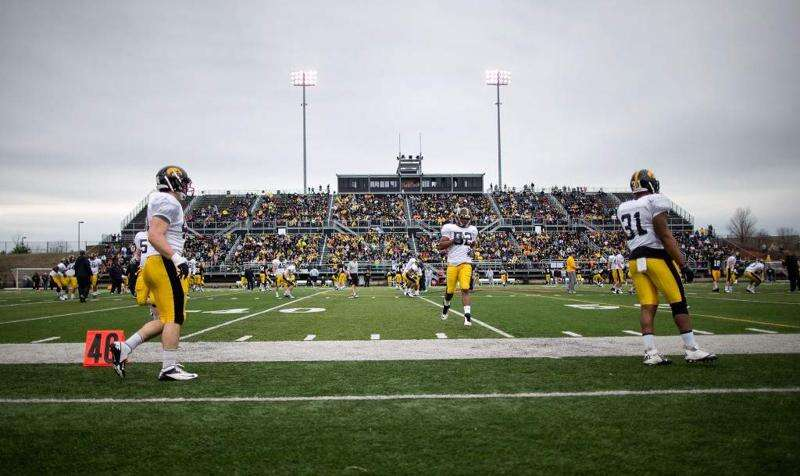 Time set for Iowa's spring practice in Des Moines