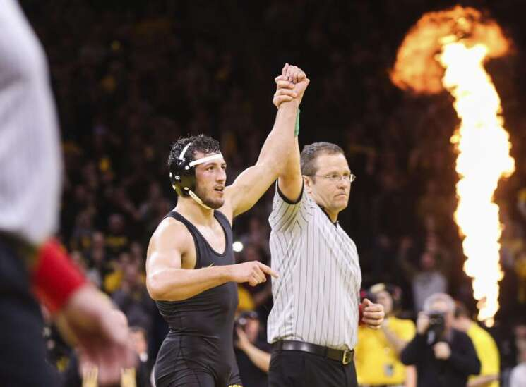 Iowa's Michael Kemerer optimistic about return for another season