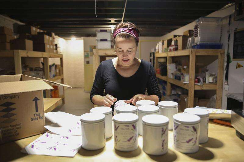 Iowa City's Whoa Nelli Natural creates natural cleaning products