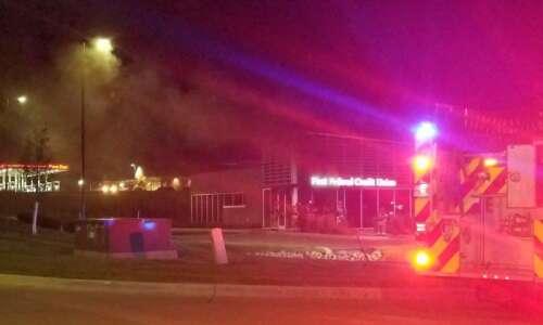 Cedar Rapids fire at Westdale-area First Federal Credit Union Thursday…