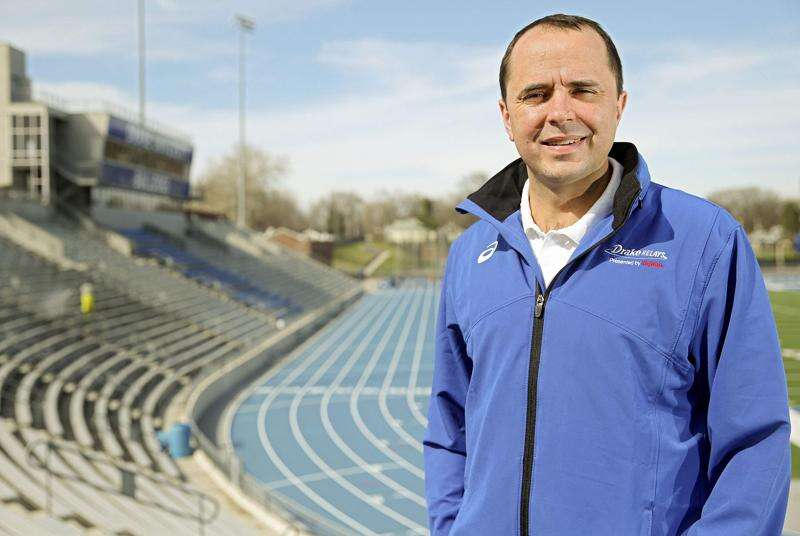 Drake Relays first-year director Blake Boldon is living his dream