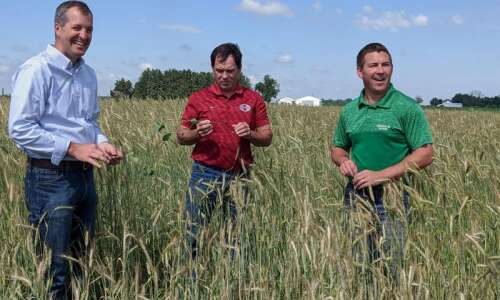 Farmers need incentives to plant cover crops, Eastern Iowa farmer…