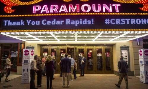 Curtain rises to COVID-19 precautions at Cedar Rapids venues