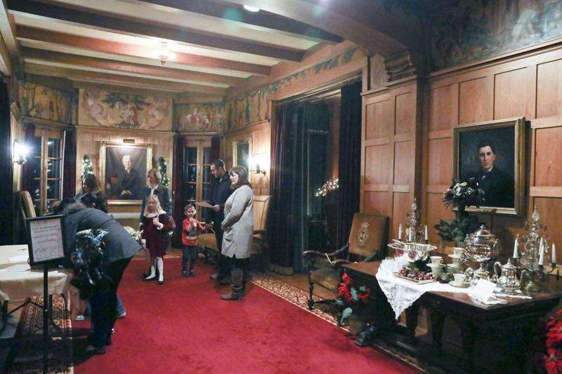 Photos: Christmas at Brucemore Mansion