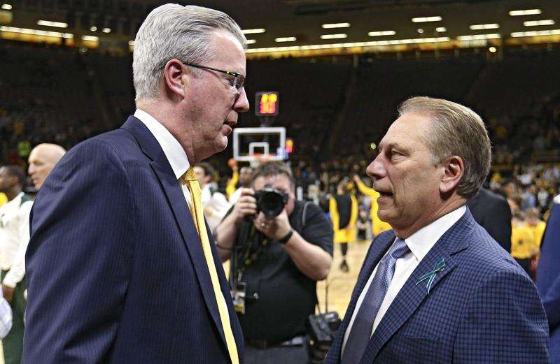 Iowa men's basketball tries to get steady against strangely shaky Michigan State