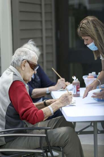 Iowa nursing homes reopen for visitors for first time in months