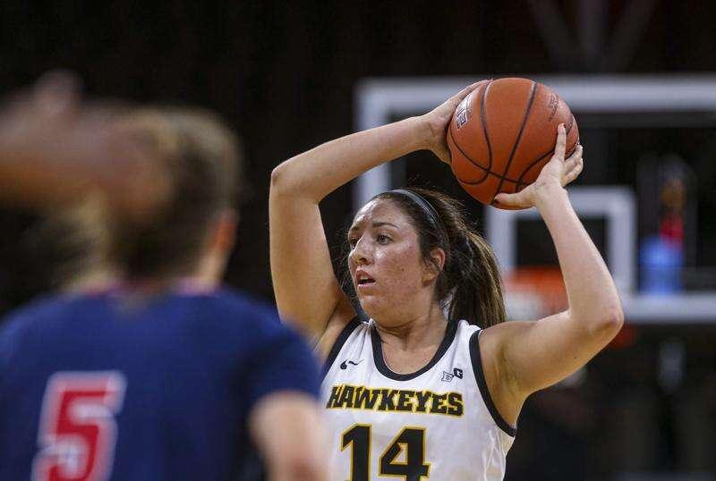 McKenna Warnock shines again as Iowa women's basketball increases win streak to 9
