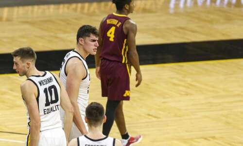 Iowa men's basketball getting a lot of things from a…