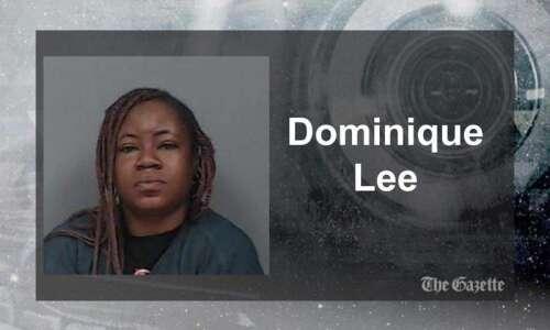 Cedar Rapids woman accused of stabbing man in head Saturday