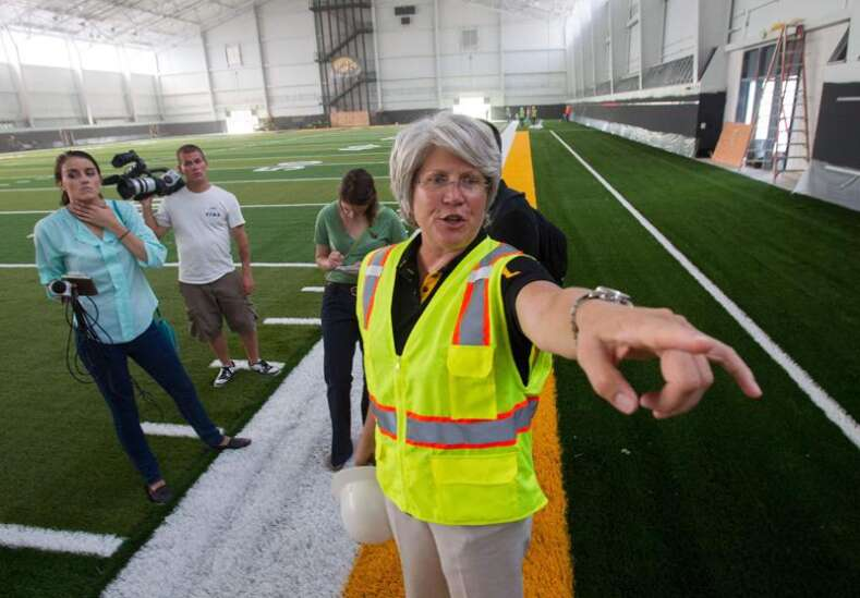 Jane Meyer files federal lawsuit against University of Iowa, officials
