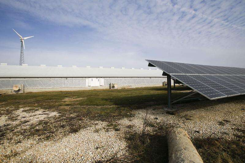 Industrial solar would take agricultural land out of production