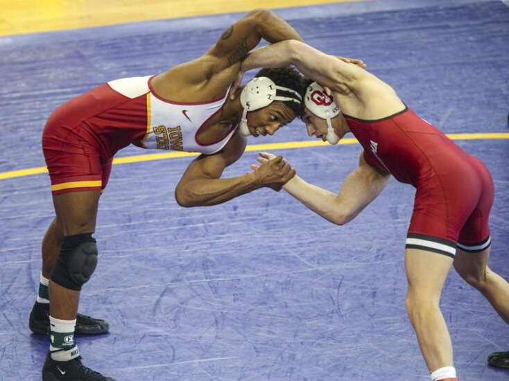 Iowa State's David Carr brings new moves, and a new mindset to Big 12 Championships
