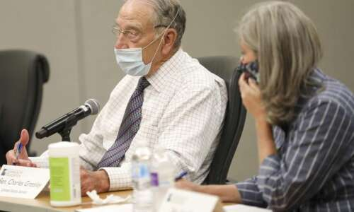 Grassley OK with term limit proposal, but balks at appointing…
