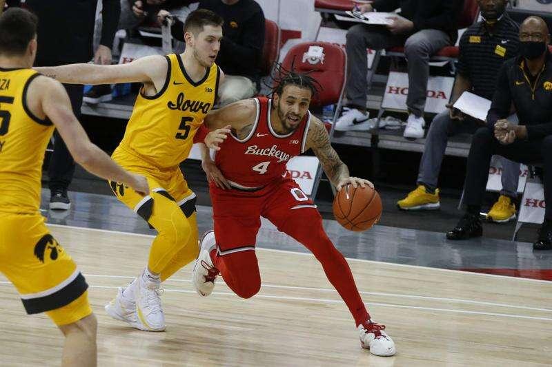 Iowa men's basketball stifles No. 4 Ohio State for season's biggest win