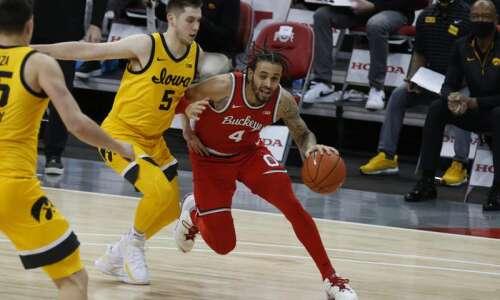 Iowa men's basketball stifles No. 4 Ohio State for season's…