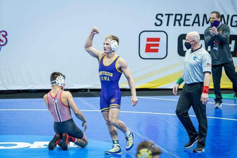 NCAA wrestling notes: Triston Lara pulls off upset, 'but nobody' at UNI was surprised