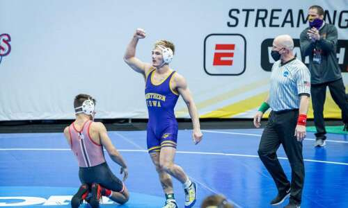 NCAA wrestling notes: Triston Lara pulls off upset, 'but nobody'…