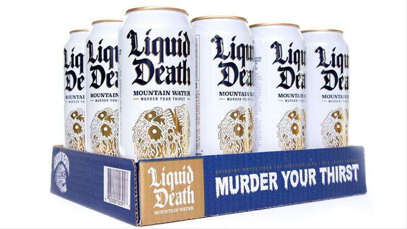 Liquid Death sells water to tech bros who are too cool for alcohol