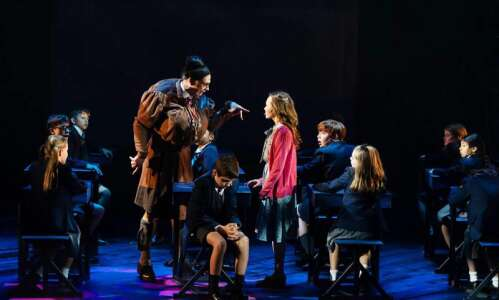 THEATER REVIEW: 'Matilda' romps through naughty & nice
