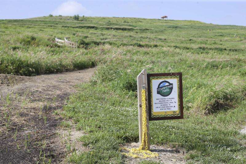 Overlook, trails at Mount Trashmore open for two days this week for nice weather