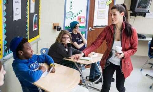 Musician Dessa takes over Iowa City high school class